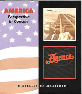 America - Perspective/In Concert CD New Sealed