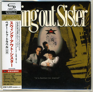 Swing Out Sister It's Better To Travel Japan SHM-CD Mini LP UICY-94426