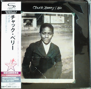 Chuck Berry - Bio Japan SHM-CD Mini LP UICY-94637