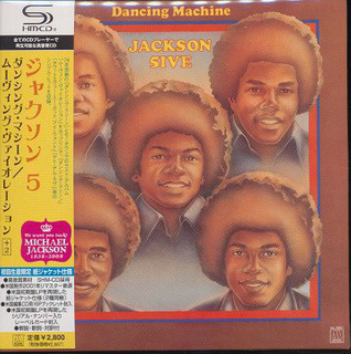 Jackson 5 - Dancing Machine Moving Violation Japan SHM-CD Mini LP UICY-94296