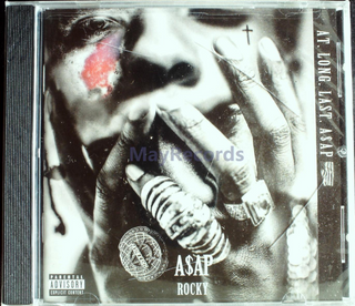 A$AP Rocky - At. Long. Last. A$AP CD Sealed Jewel Case Cracked