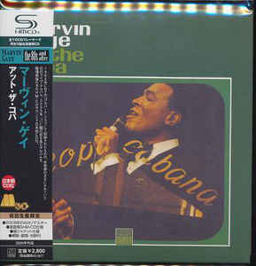 Marvin Gaye - At The Copa Japan SHM-CD Mini LP OBI UICY-94030