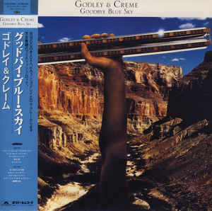 Godley & Creme - Goodbye Blue Sky Japan SHM-CD Mini LP UICY-94545