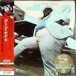 Jean Knight - Mr. Big Stuff Japan SHM-CD Mini LP OBI UCCO-9546