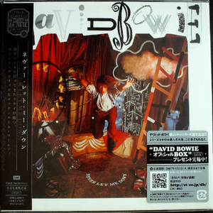 David Bowie - Never Let Me Down Japan Mini LP TOCP-70156