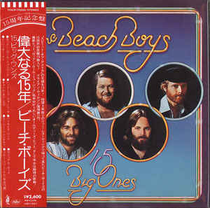 The Beach Boys - 15 Big Ones Japan SHM-CD Mini LP TOCP-70550