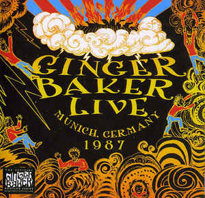Ginger Baker - Live In Munich Germany 1987 CD New Sealed