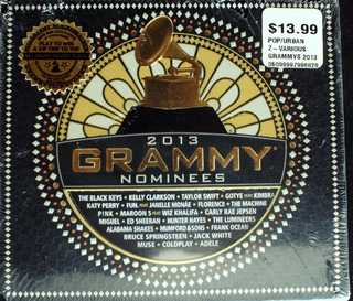 Various - 2013 Grammy Nominees CD Sealed Taylor Swift/Adele/P!nk Jewel Case Cracked