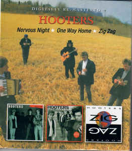Hooters - Nervous Night/One Way Home/Zig Zag 2CD New Sealed