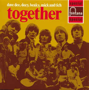 Dave Dee, Dozy, Beaky, Mick & Tich Together Japan SHM-CD Mini LP UICY-94014