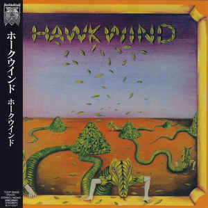 Hawkwind - Hawkwind S/T Japan SHM-CD Mini LP TOCP-95059