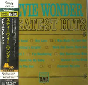 Stevie Wonder - Greatest Hits Japan SHM-CD Mini LP UICY-93872