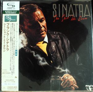 Frank Sinatra - She Shot Me Down Japan SHM-CD Mini LP UICY-94603