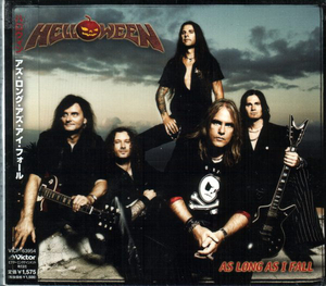 Helloween - As Long As I Fall Japan Single CD W/OBI Limited Digipak VICP-63954