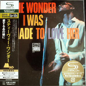 Stevie Wonder - I Was Made To Love Her Japan SHM-CD Mini LP UICY-93870