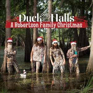 Robertson Family - Duck the Halls A Robertson Family Christmas CD Sealed Jewel Case Cracked