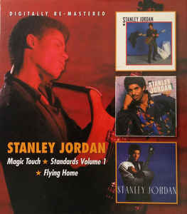 Stanley Jordan Magic Touch / Standard Volume 1 / Flying Home 2CD New Sealed