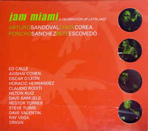 Jam Miami A Celebration Of Latin Jazz CD Sealed Jewel Case Cracked USA