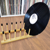 Record Vinyl Drying Rack Bamboo Storage Rack for LP Record