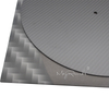 Carbon Fiber LP Mat Slipmat For Turntables Record Player Accessories